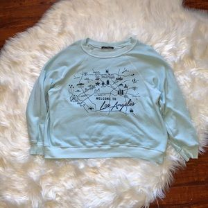 Wildfox Los Angeles Crew Sweatshirt